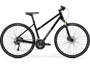 Merida CROSSWAY XT-EDITION-LADY Glossy Black(Matt Silver) 2021