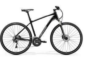 Merida CROSSWAY XT-EDITION Black(Matt Silver/Black) 2020