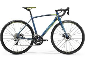 MERIDA CYCLO CROSS 300 Petrol(Yellow/Lite Teal) 2018