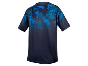 Triko Endura SingleTrack Print T LTD navy
