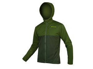 Bunda Endura SingleTrack Softshell II green forest