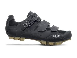 MTB tretry Giro Privateer R black/gum