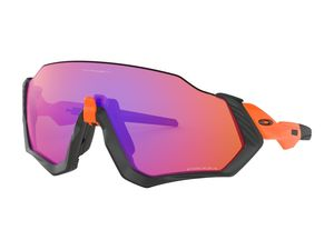 Brýle OAKLEY Flight Jacket Neon Orange w/ Prizm