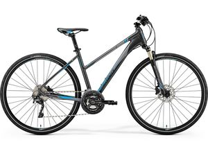MERIDA CROSSWAY XT-EDITION Lady  Dark Silver (Blue) 2019
