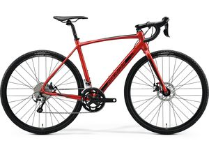 Merida MISSION CX 300 SE Silk X'Mas Red(Black) 2020