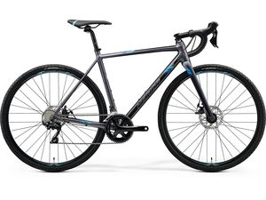 Merida MISSION CX 400 Matt Silver(Blue) 2020