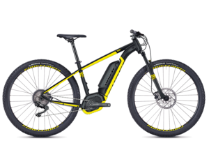 GHOST HYB Teru B2.9 black / yellow 2018