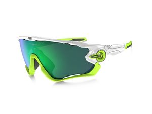 Brýle Oakley JawBreaker Polished White/jade Iridium