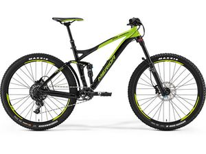 Merida ONE-FORTY 600 Black/Green 2017