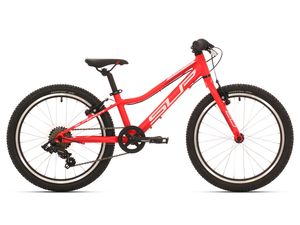 Superior RACER XC 20 Matte neon red/white/dark red 2019
