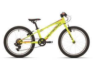 Superior RACER XC 20 matte radioactive yellow/black red 2018