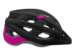 Přilba Superior MTB Fun black/purple