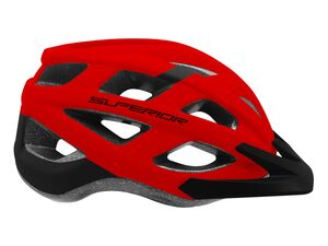 Přilba Superior MTB Fun black/red