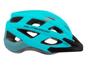 Přilba Superior MTB Fun blue/light blue