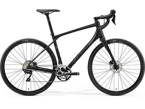Merida SILEX 400 Matt Black(Silver) 2019