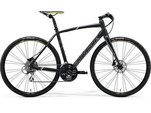 MERIDA SPEEDER 100 Matt Black(Yellow/Grey) 2018