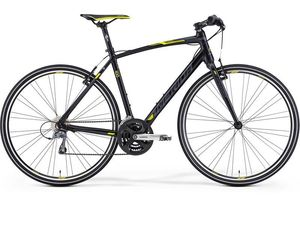 Merida SPEEDER 100 Silk Black(Dk.Grey/Yellow) 2015