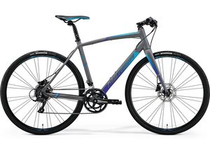 MERIDA SPEEDER 200 Matt Grey(Blue) 2018