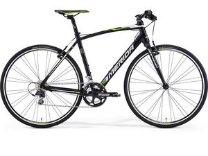 Merida SPEEDER 300 Silk Black(Green/White) 2015