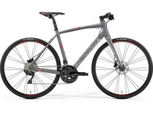 MERIDA SPEEDER 400 Matt Grey(Red) 2019