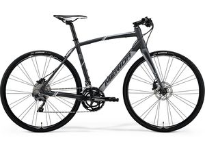 MERIDA SPEEDER 500 Matt Dark Grey(Grey/White) 2018