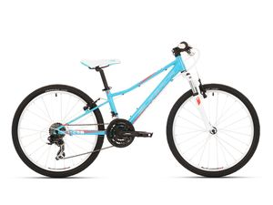 Superior MODO XC 24 gloss ice blue/coral red/white 2018